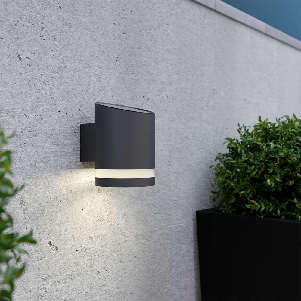Solar wandlamp - antracietgrijs