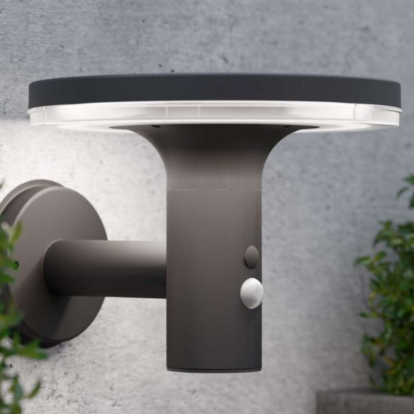 Solar wandlamp LED Bluetooth speaker