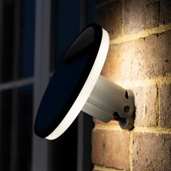 Solar wandlamp LED Halo - Design