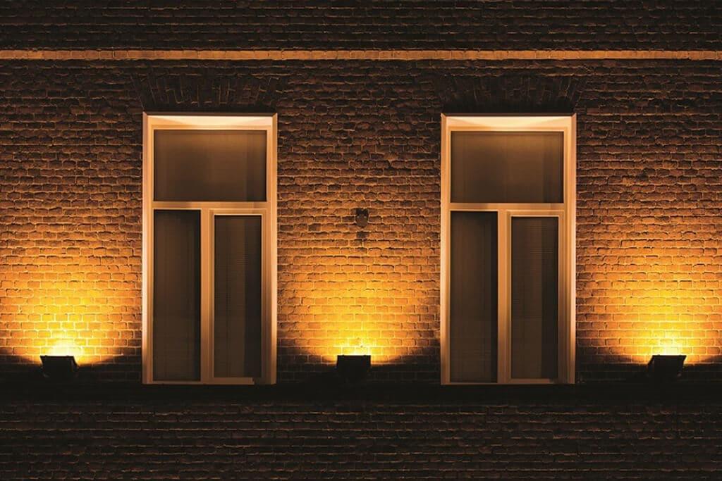 Warm wit licht effect met deze solar wandlampen