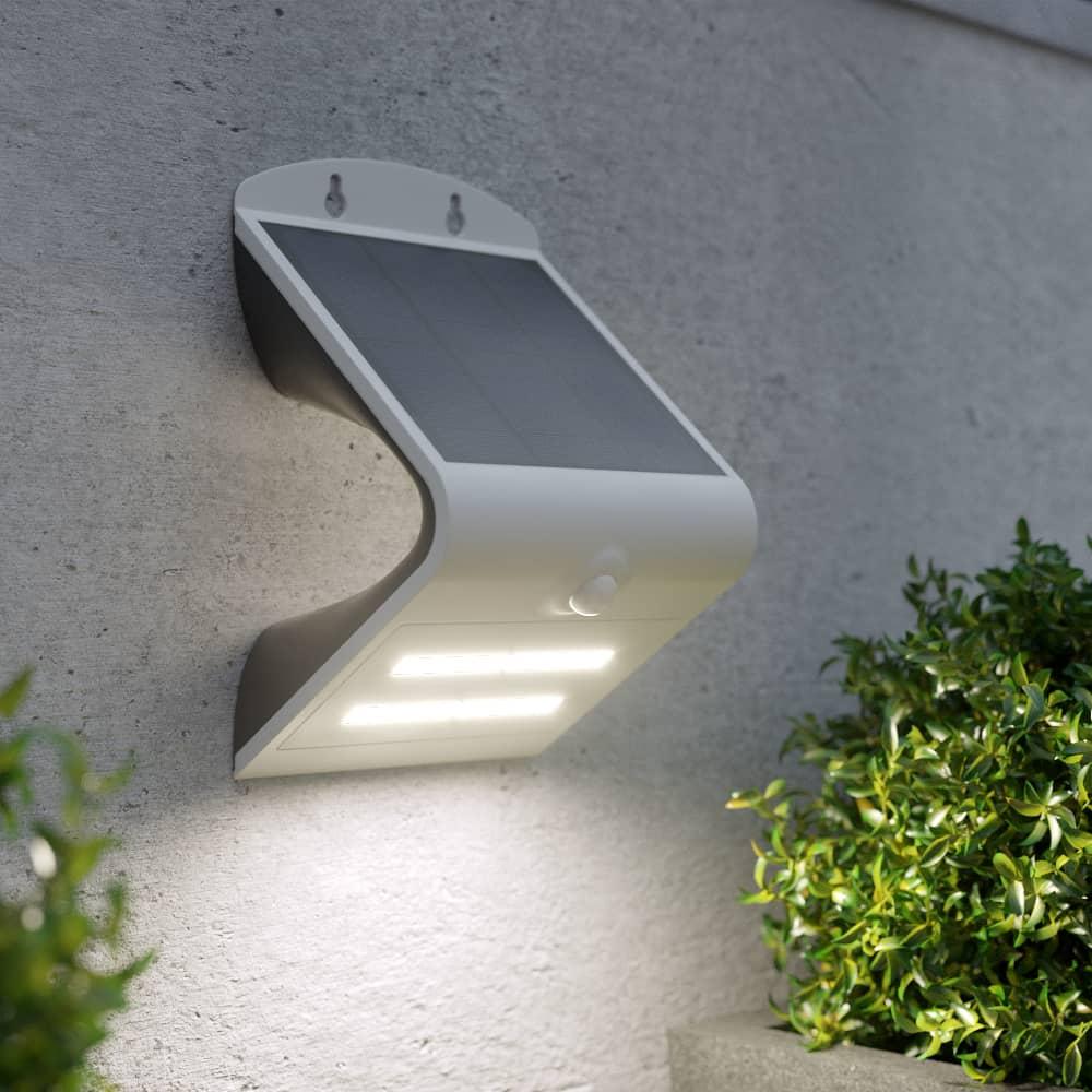 Solar beveiligingslamp premium