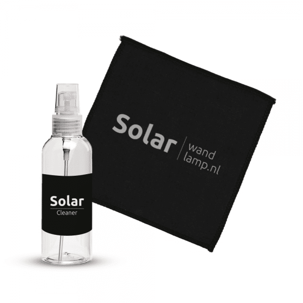 Solar zonnepaneel cleaner set