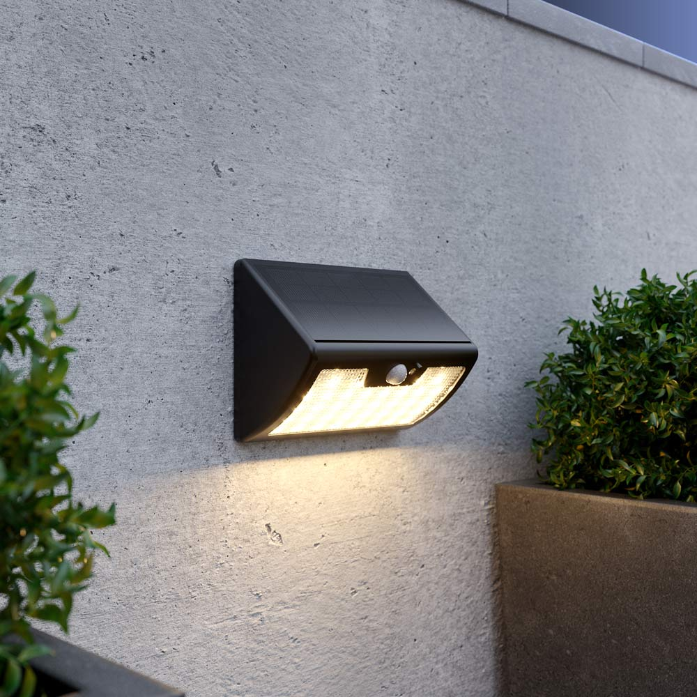Solar inbrekerslamp premium afstandbediening