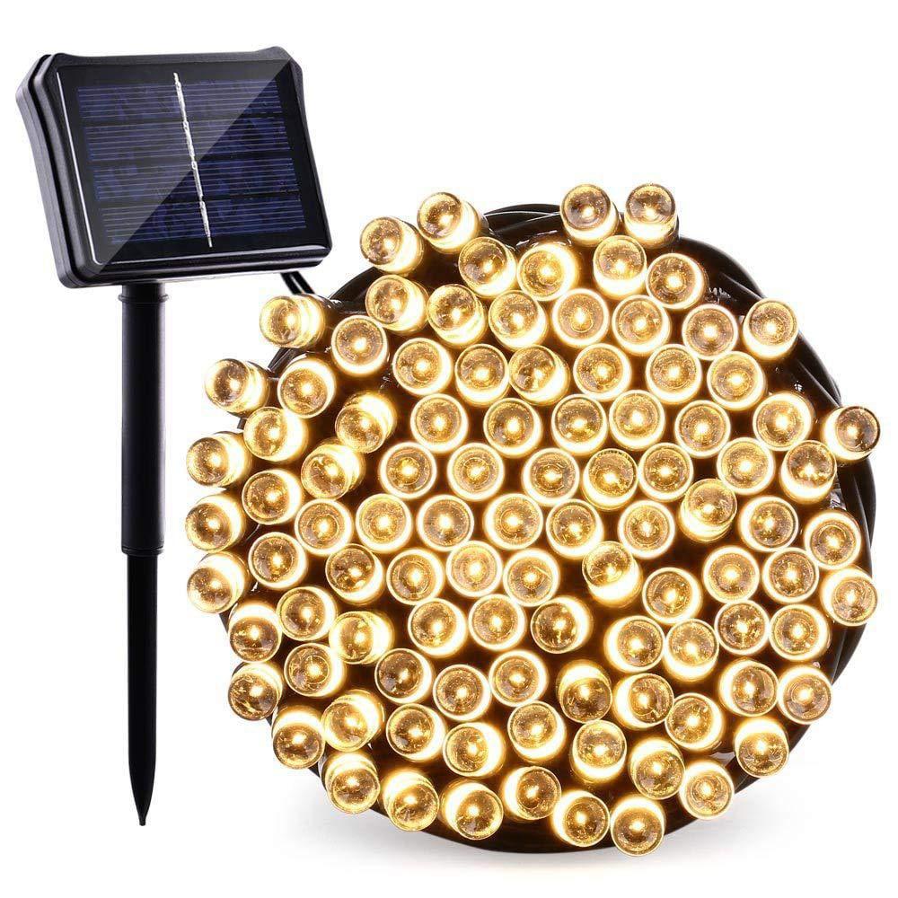 Solar lichtsnoer met zonnepaneel