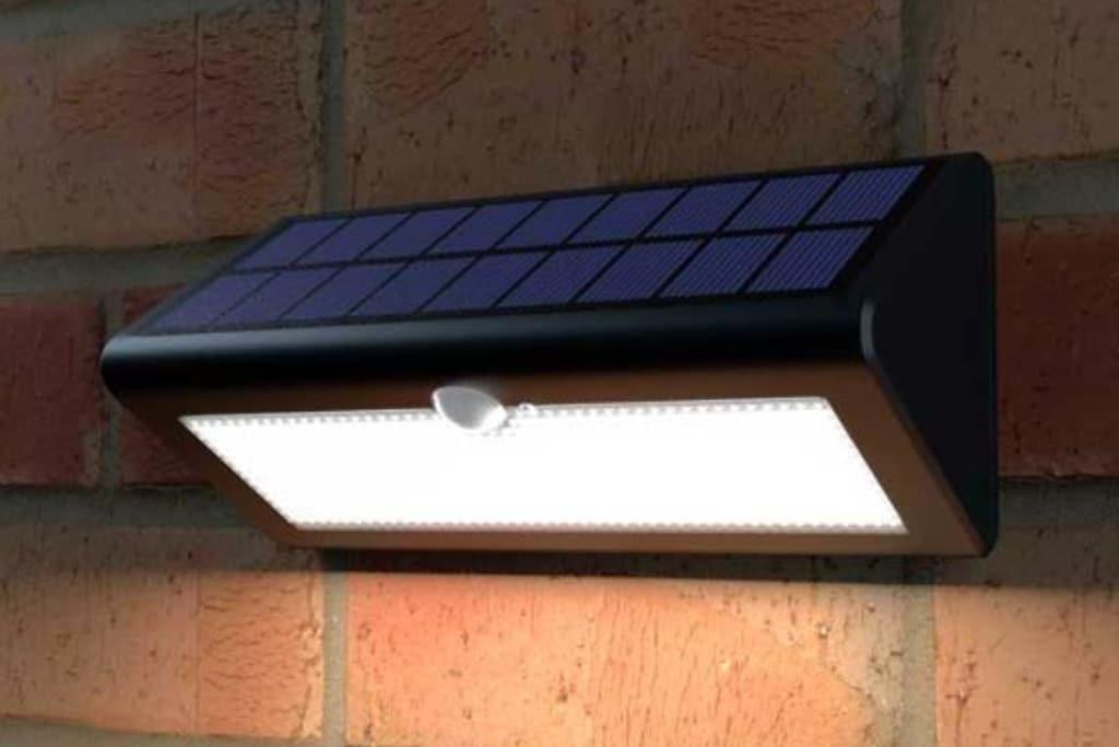 Solar tuinverlichting met sensor