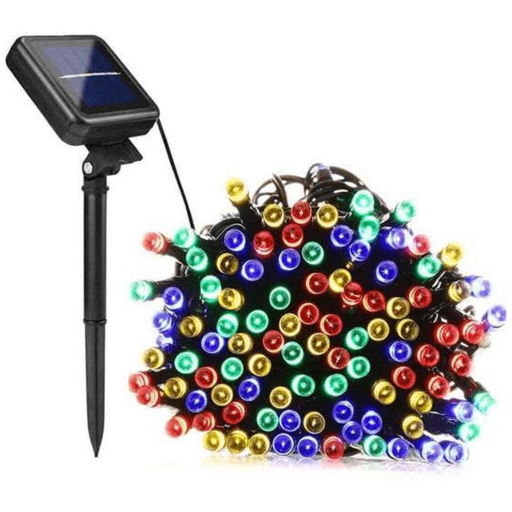 Solar lichtsnoer LED - Multi-color - 100 lampen