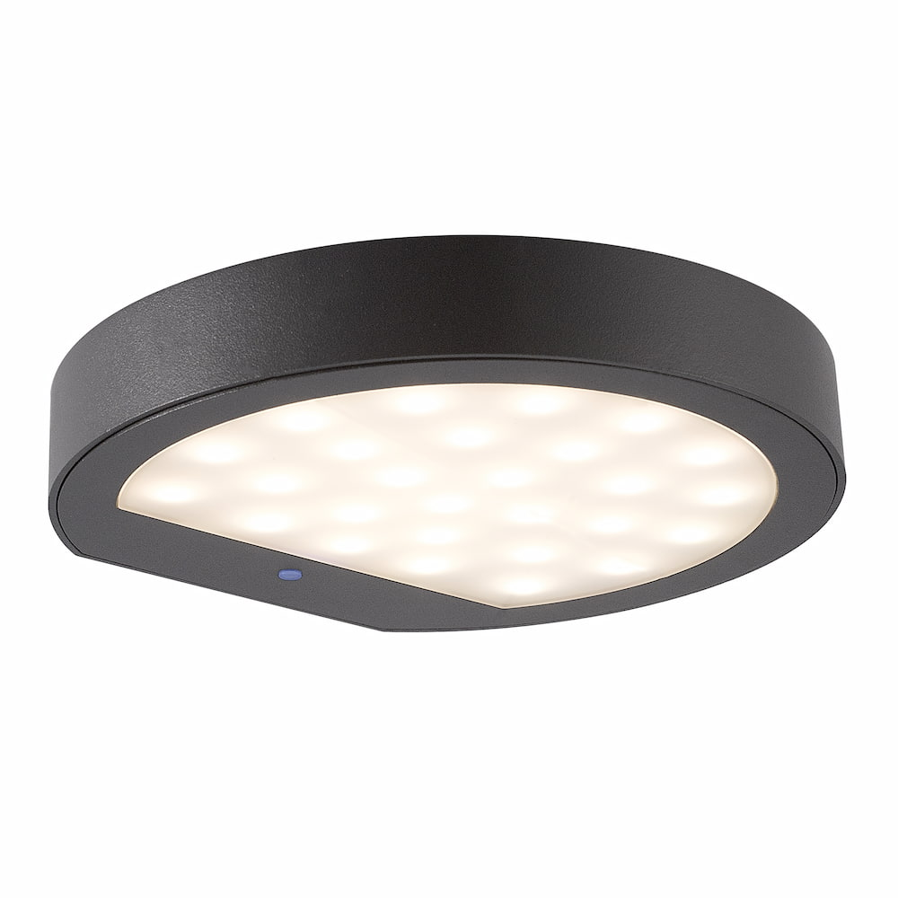 Solar wandlamp - Italiaans Design - Phillips Warm witte LED - Rond