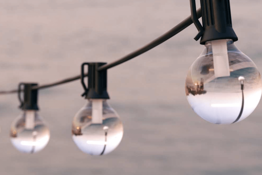 Feestverlichting op zonne energie